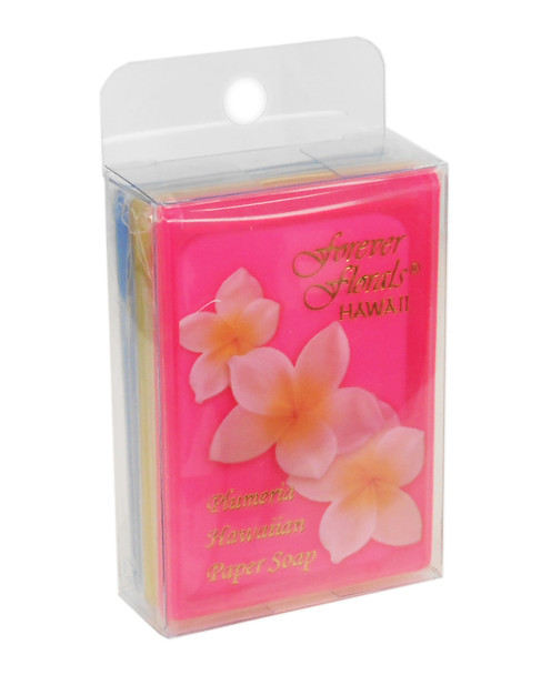 Hawaiian Scented Paper Soap (Pack of 3)