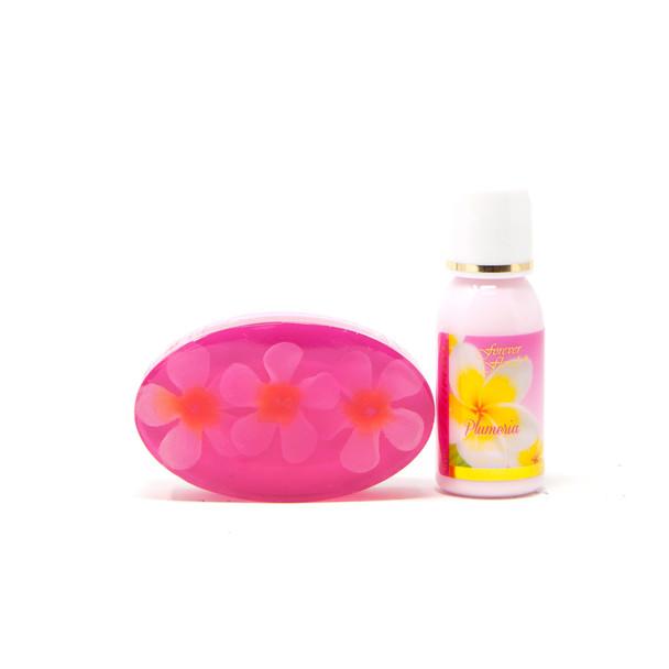 Plumeria Mini Gift Set (Lotion and Soap)