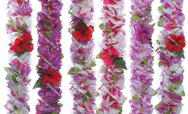 Dendrobium Orchid Poepoe Lei (Pack of 6)