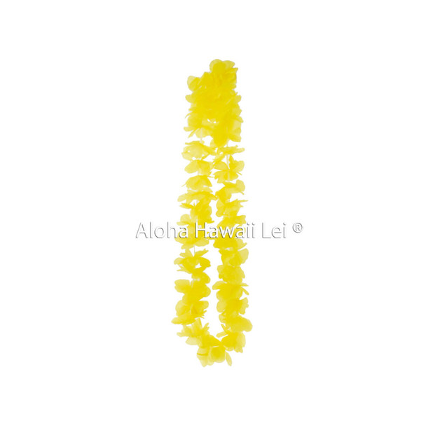Island Lei (Pack of 25) - Yellow