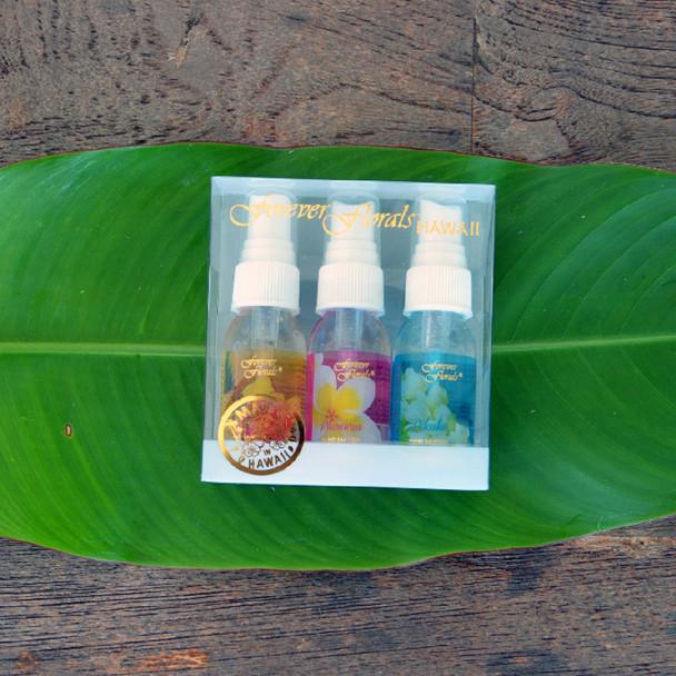 #51971 Forever Florals Aloe Hand Forever Florals Hand Sanitizer, 1oz., 3-pack Fine Mist Spray