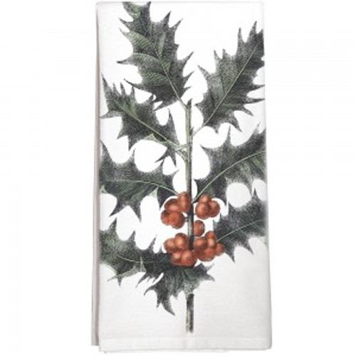 Holly Flour Sack Towel