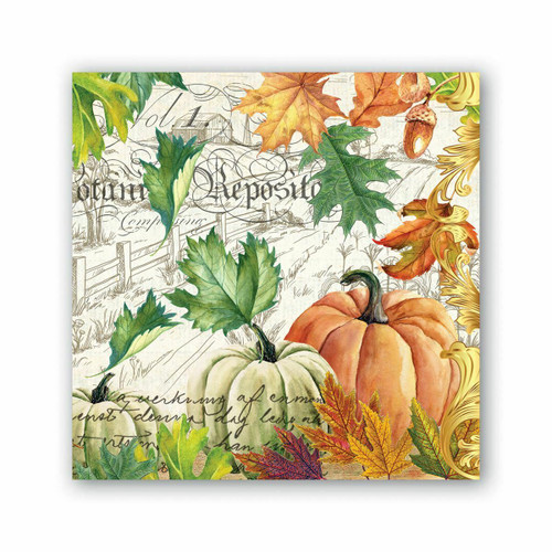 Autumn Fall Harvest Luncheon Napkins