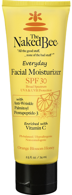 Orange Blossom Honey Facial Moisturizer with SPF30