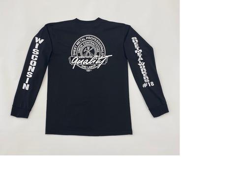 Black Bucky Long Sleeve Shirt