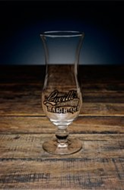 Lucille's Hurricane Glass