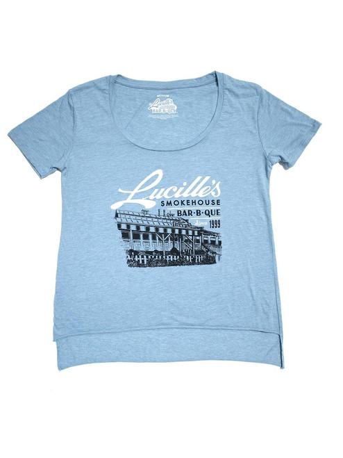 Illustration Women's T-Shirt - Stonewash Denim