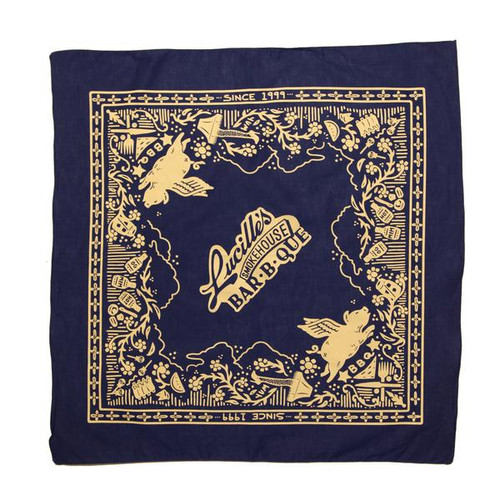 20th Anniversary Bandana - Royal Blue