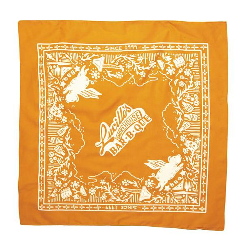 20th Anniversary Bandana - Gold