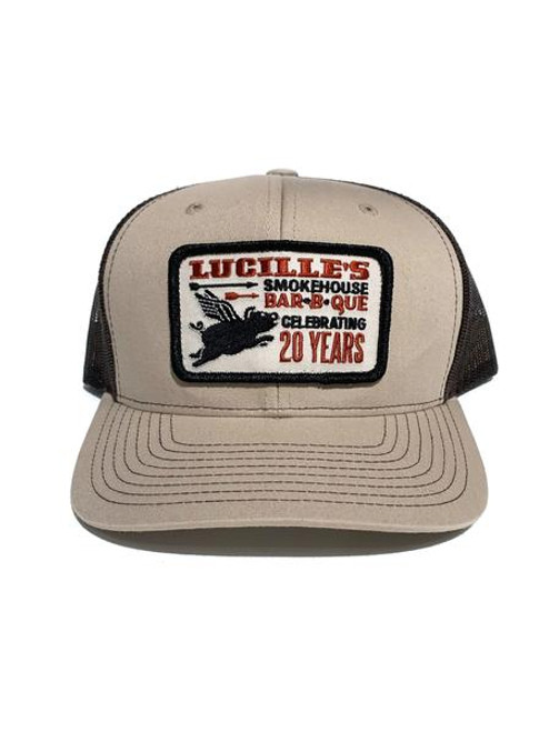 20th Anniversary Trucker Hat - Tan/Brown