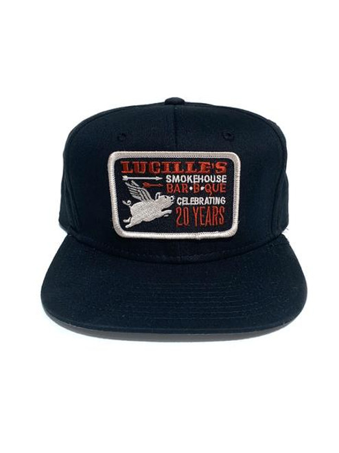 20th Anniversary Flexifit Hat - Black