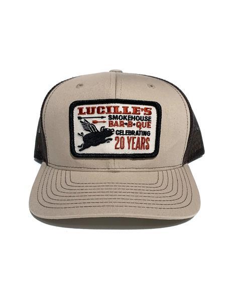 20th Anniversary Trucker Hat - Tan/Brown