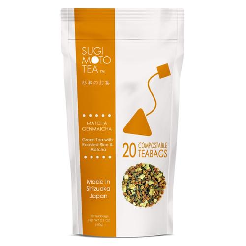 ENRICH Matcha Genmaicha Tea Bags