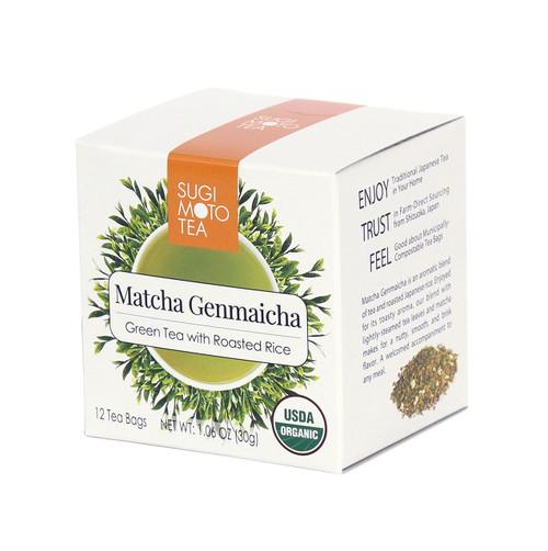 Organic Matcha Genmaicha Tea Bags