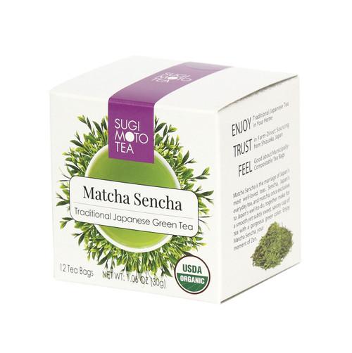 Organic Matcha Sencha Tea Bags