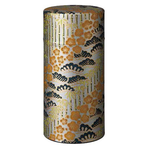 """Washi Tea Canister """"Silver Winter"""""""