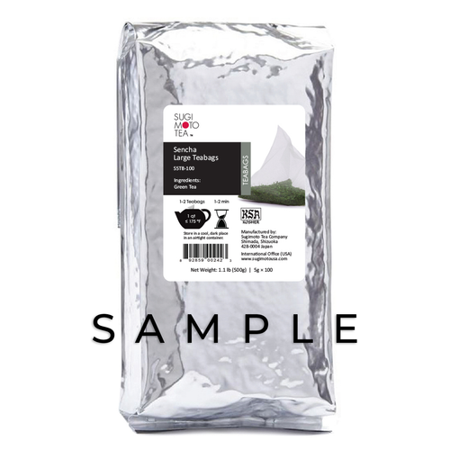 Sencha Large Tea Bag Sample