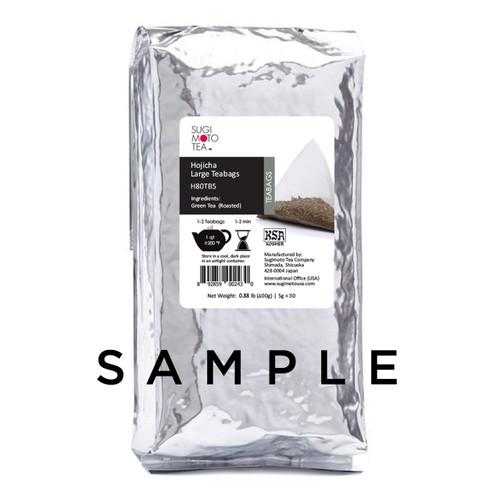 Hojicha Large Tea Bags Sample