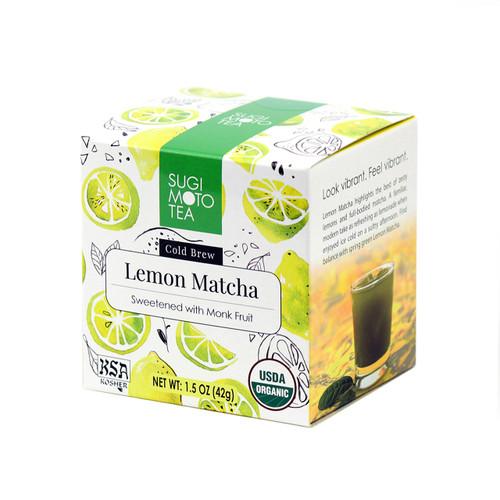 Organic Lemon Matcha Box