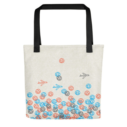 Globetrotting - Tote bag