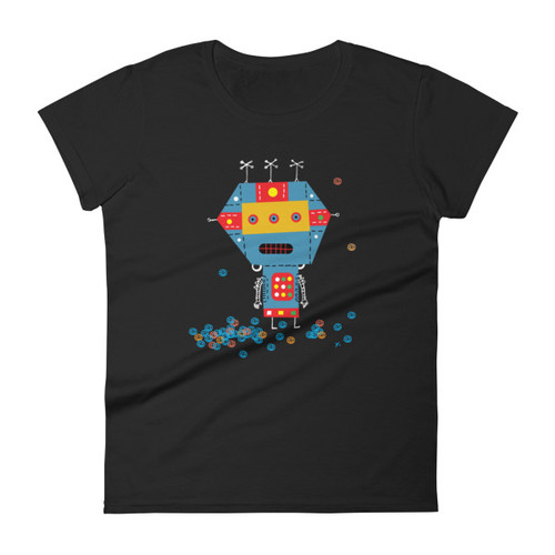 Blue Robot - Women's short sleeve t-shirt