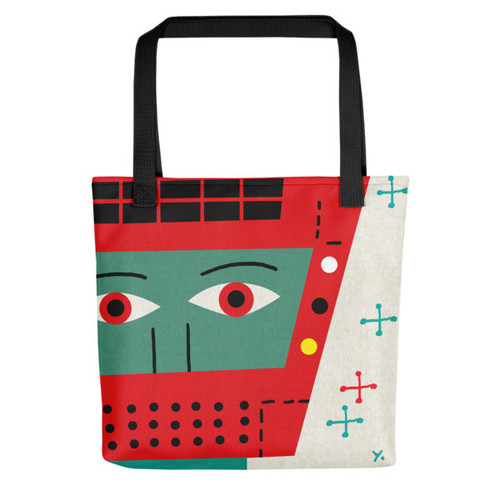 Red Robot - Tote bag