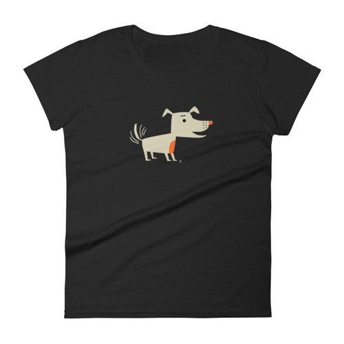 Women's Bright Dog short sleeve t-shirt