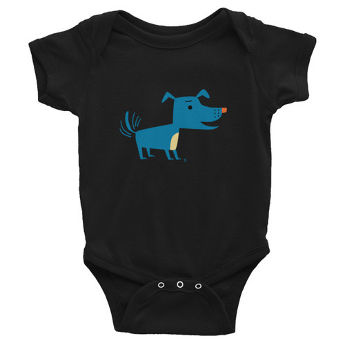Blue Dog Infant Onesie