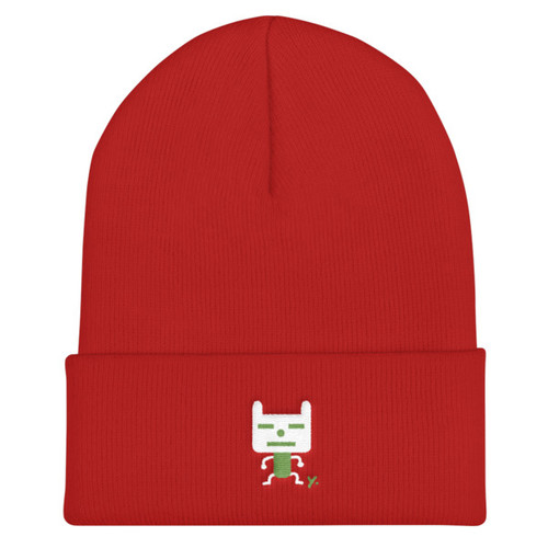 Chinese New Year Beanie - Green Year of the Dog