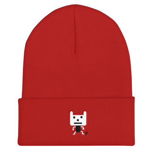 Chinese New Year Beanie - Black Year of the Dog Hat