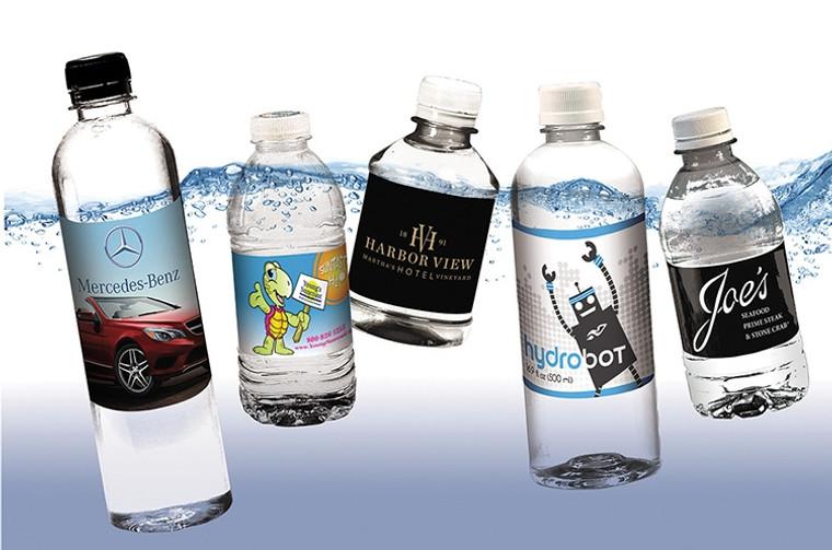 Custom Bottled Water - 16.9oz