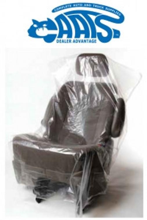 CAATS Standard Seat Covers   (.5 mil) - 500 per roll (Item# 1061)