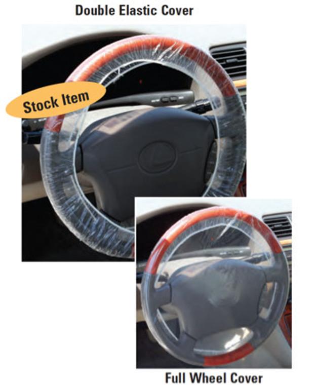 Double-Elastic  Steering Wheel Covers (Item# 107)