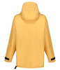 Over the head classic styled smock in Organic Ventile with a hood, designed for windproof and showerproof use. Rear view Colour: Survival Yellow