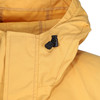 Over the head classic styled smock in Organic Ventile with a hood, designed for windproof and showerproof use. Colour: Survival Yellow
