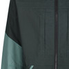 Talorc Organic Hybrid Ventile Jacket in Spruce Green/Contrast colour on sleeve