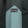 Talorc Organic Hybrid Ventile Jacket in Spruce Green/Contrast. Organic Ventile sleeve detail.