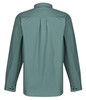 Kintail Organic Ventile Long Sleeved Shirt in Spruce Green: windproof and weatherproof. Pleated back for ease of movement and comfortable fit.