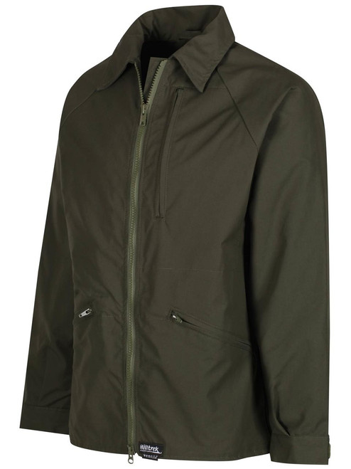 Our Greenspot® DV Heritage Jacket. Simple lines with zipped chest pocket and two zipped angled lower pockets.