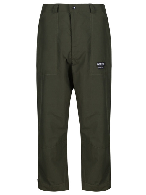 Classically styled below knee length fully waterproof Double Ventile® breeches. Warm and durable perfect for foul weather activities on the hills and moors. Colour: Olive