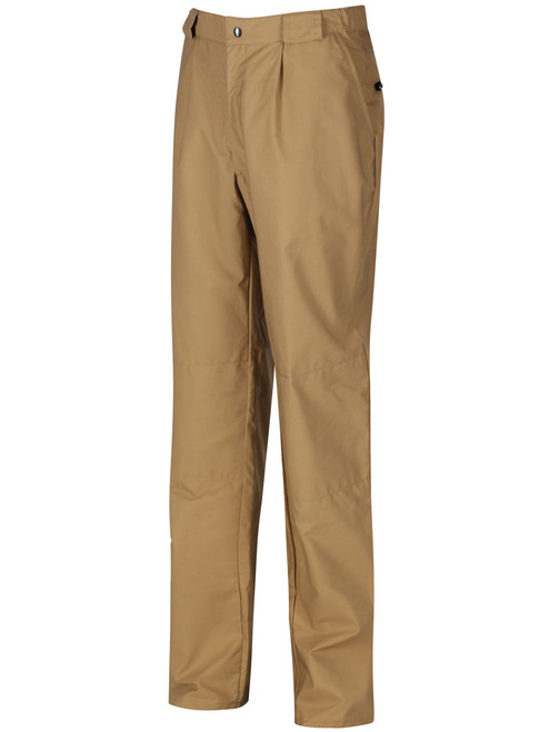 Tough, hardwearing and rustle free trousers with double Ventile® protection on the knees and seat. Wind and showerproof. Deep rear zipped security pockets. Colour: Bronze.