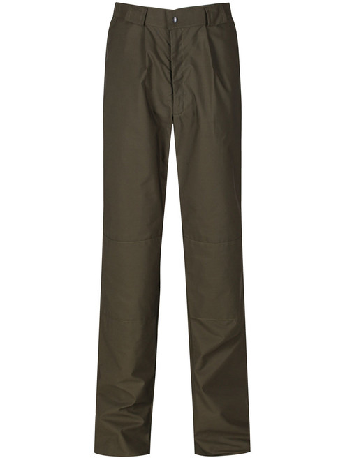 Double Ventile® fully waterproof trousers - tough, hardwearing and warm. Colour: Olive