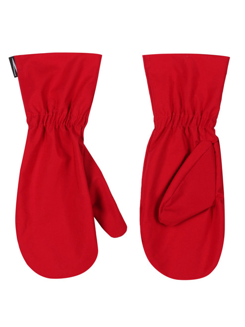 Single Ventile® classic overmitt for weatherproof protection of inner glove. Colour: Red.
