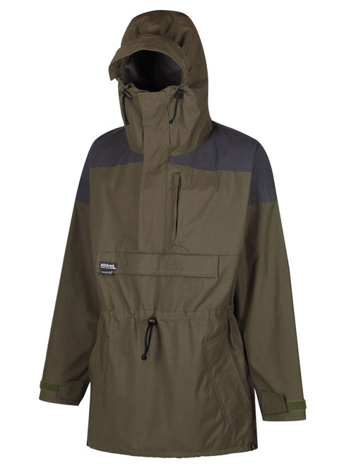 Fully featured Cotton Analogy® Smock ideal for extreme conditions. Colour: Olive/Charcoal