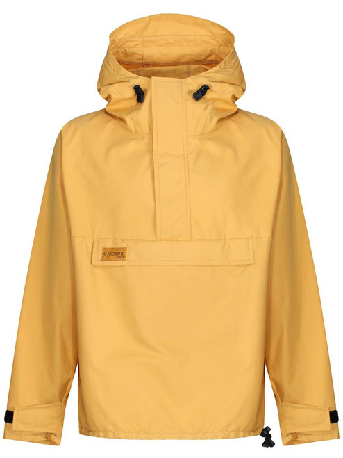 Over the head classic styled smock in Organic Ventile with a hood, designed for windproof and showerproof use.