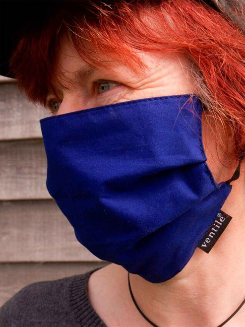 Ventile Face Mask with Elastic - three sizes available