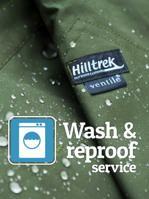 Revitalise your garment - let Hilltrek wash and reproof your Ventile or Cotton Analogy clothing