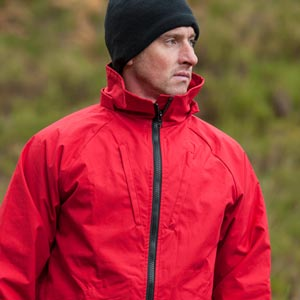 Outdoor clothing in Ventile®, a completely natural fabric made from cotton