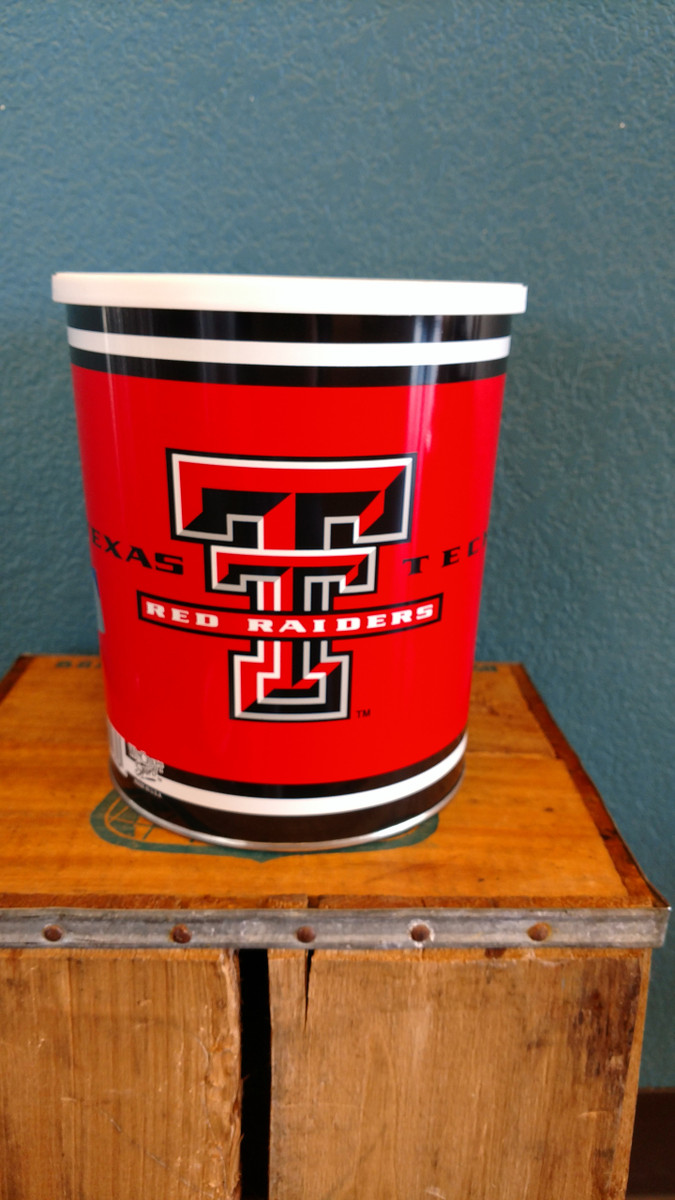 Texas Tech 1 Gallon Tin