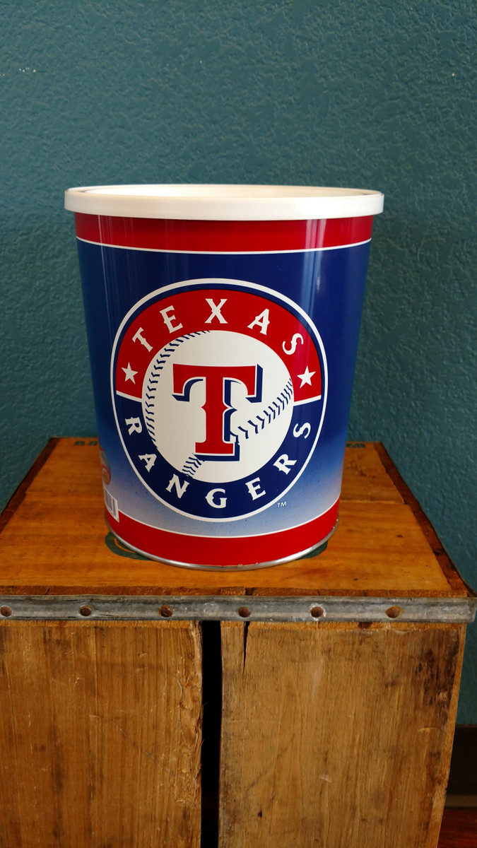 Texas Rangers 1 Gallon Tin